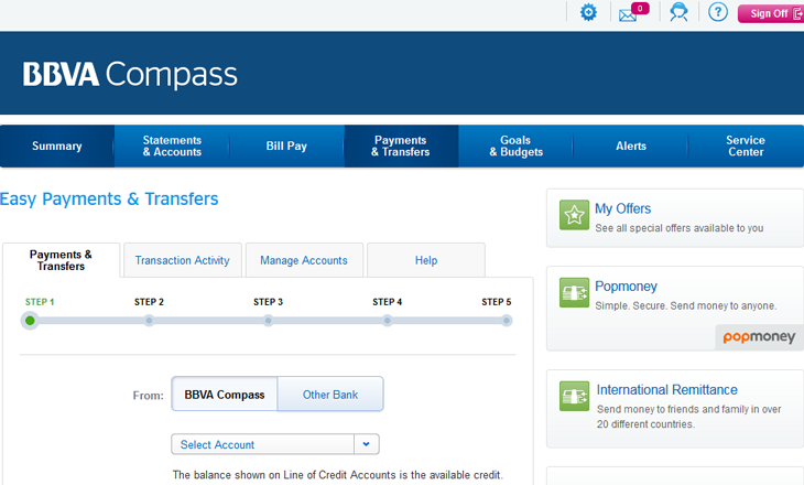 bbva compass money market account
